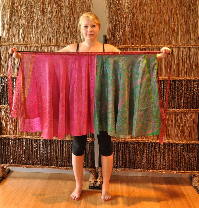 Magic Wrap Skirt Style Tutorial: Island Dress - Mexicali