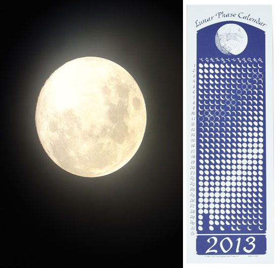 Lunar Phase Calendar