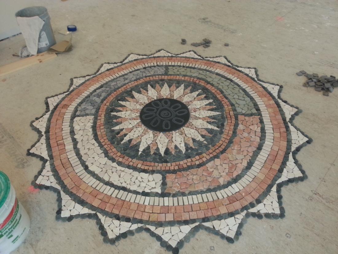Mexicali News: The Tile Mandala Grows!