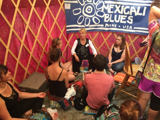 Meditation and chakra alignment with Newcastle's manager Suse Wicks
